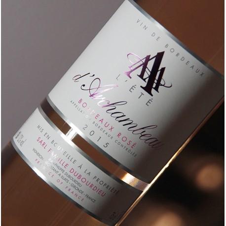 L'Eté d'Archambeau, Bordeaux Rosé 2015