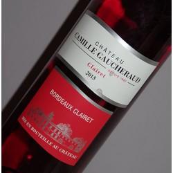 Château Camille Gaucheraud 2015 Bordeaux Clairet